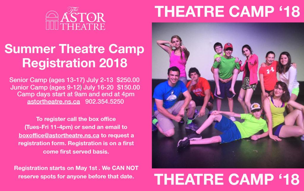 Astor Theatre Summer Camp 2018 @ Astor Theatre