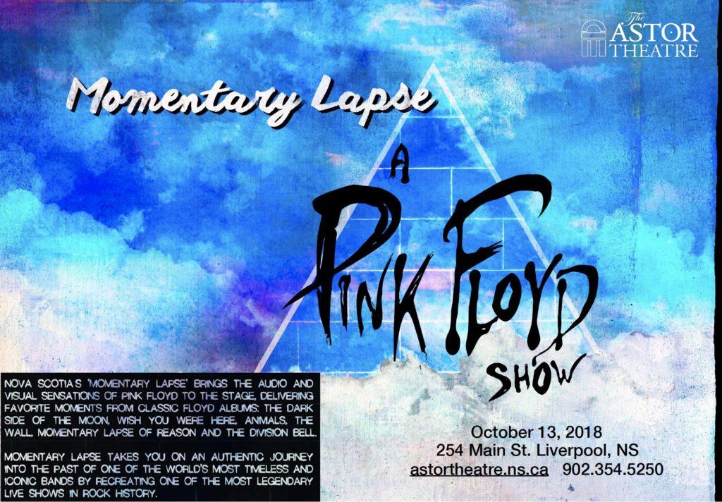 Momentary Lapse - A PINK FLOYD SHOW @ Astor Theatre
