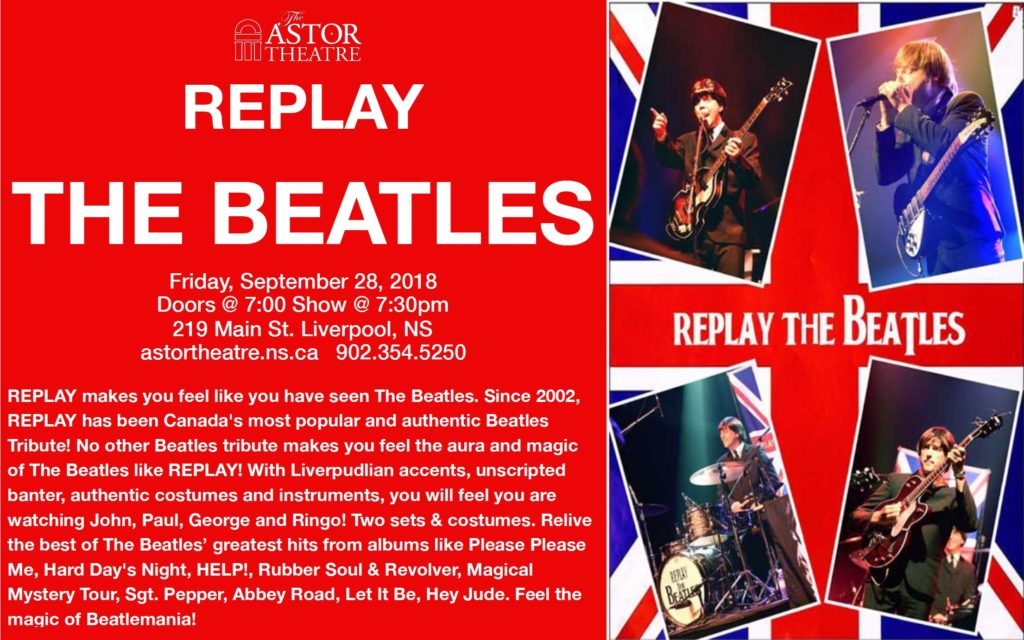 Replay THE BEATLES @ Astor Theatre