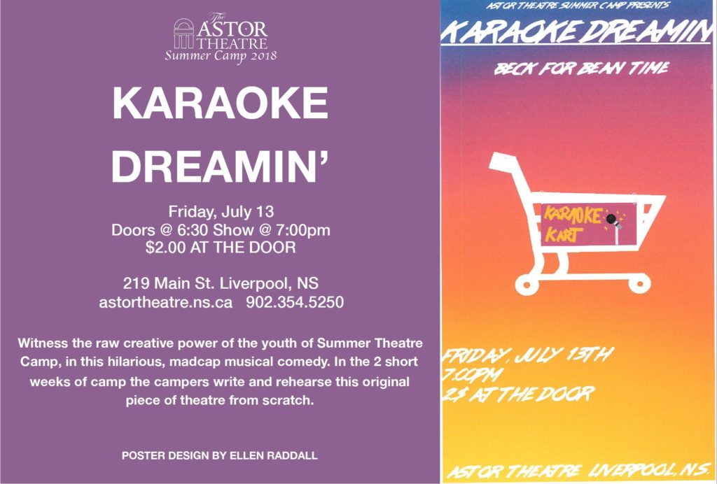 Karaoke Dreamin' - An Astor Theatre Summer Camp Production @ Astor Theatre