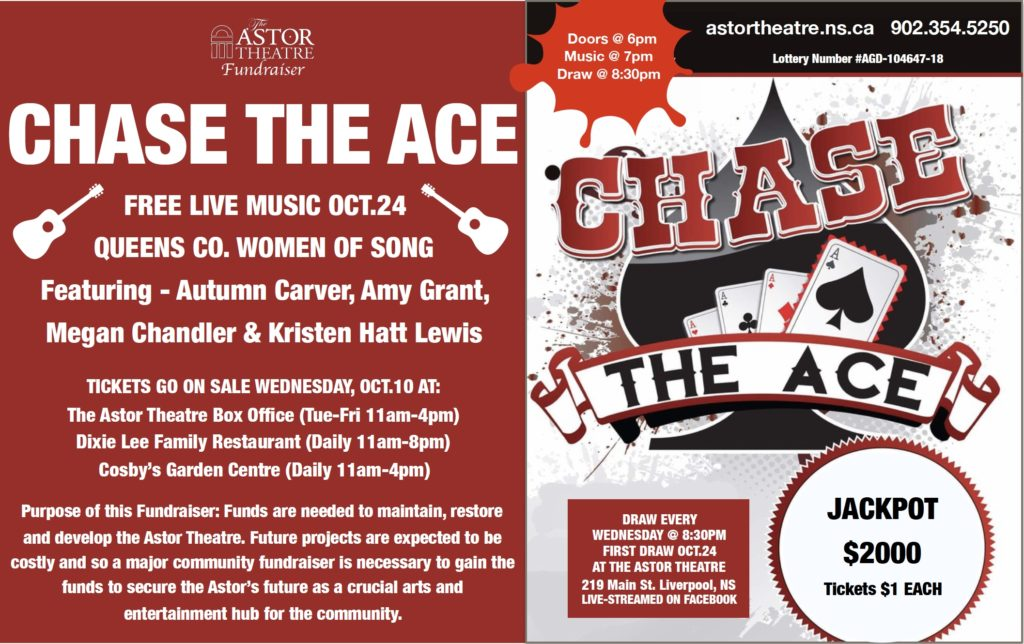 Chase the Ace - Fundraiser @ Astor Theatre