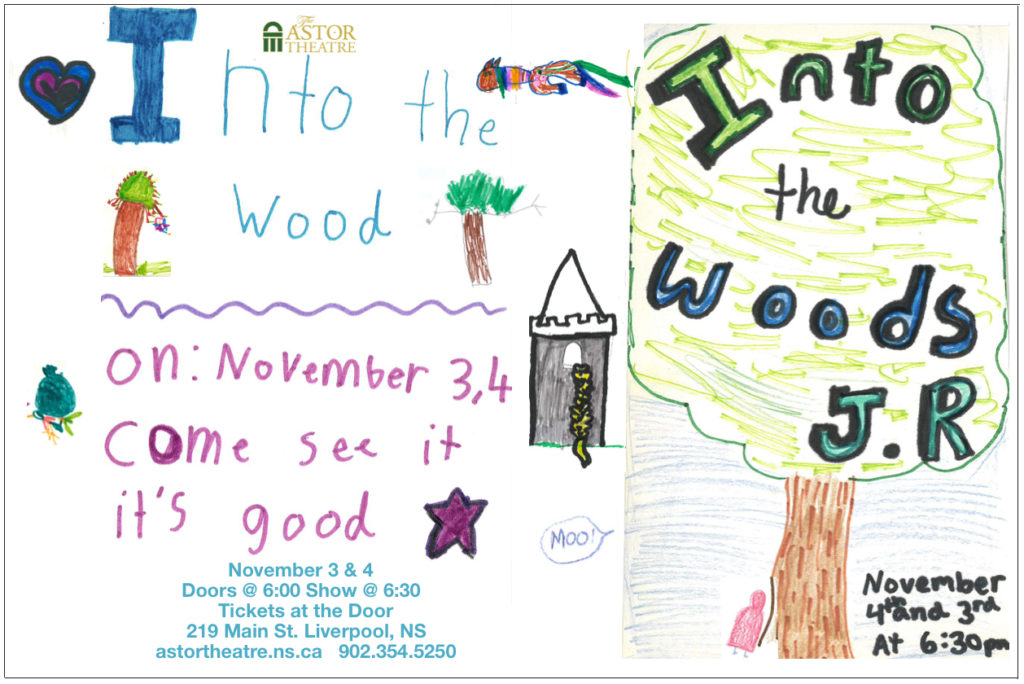 Into the Woods Jr. - Tickets at the Door $10-Adult $8-Student @ Astor Theatre