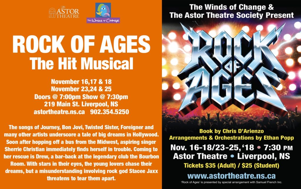 Rock of Ages-The Hit Musical - Winds of Change @ Astor Theatre