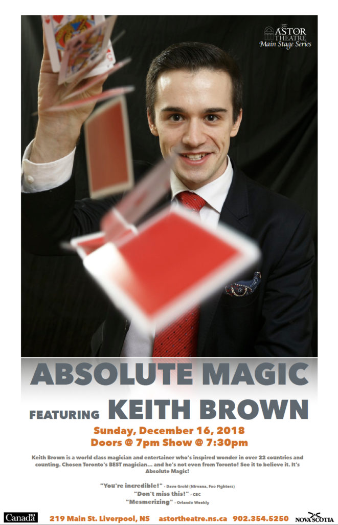 Absolute Magic - Main Stage Series @ Astor Theatre