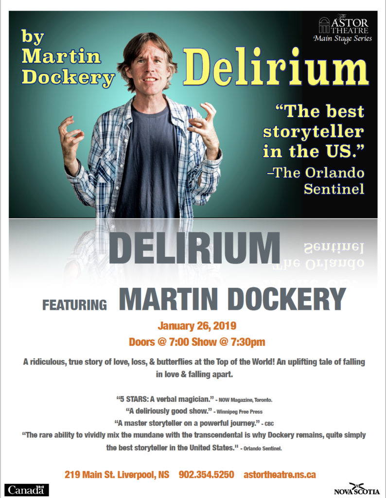 Delirium - Main Stage Series @ Astor Theatre