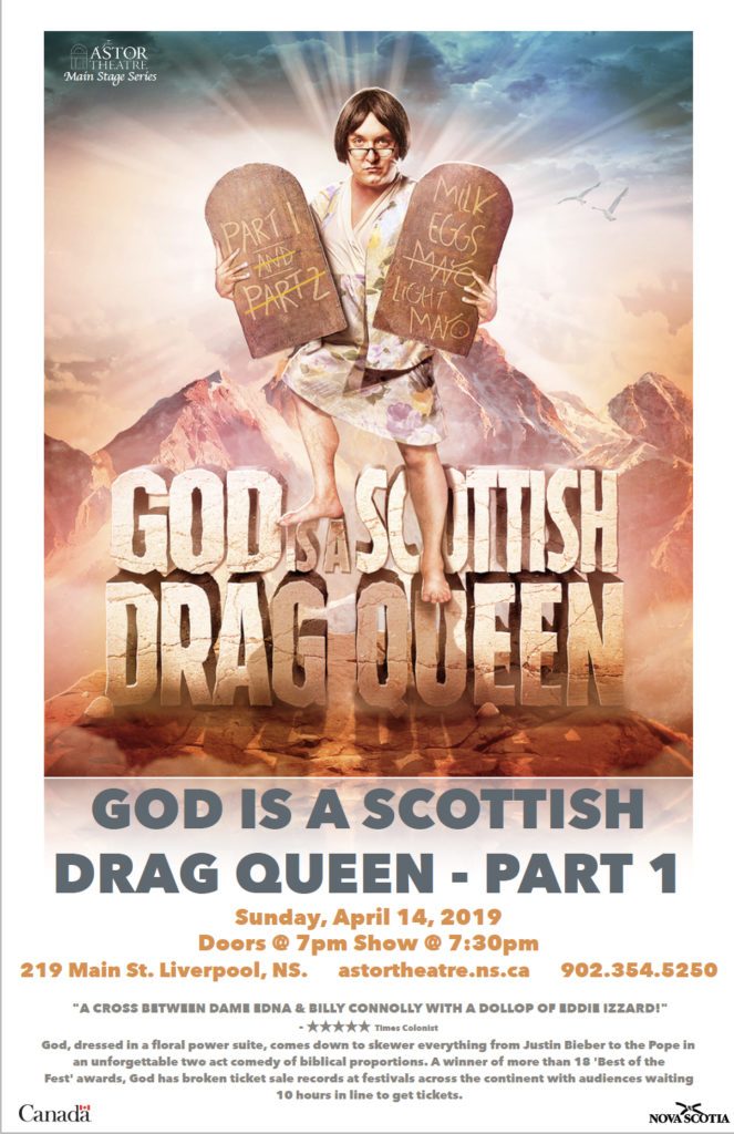 God Is a Scottish Drag Queen - Main Stage Series @ Astor Theatre
