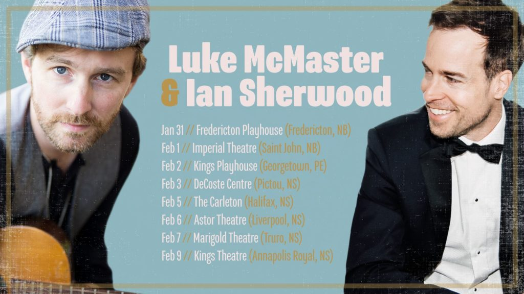 Ian Sherwood & Luke McMaster - Double Bill @ Astor Theatre
