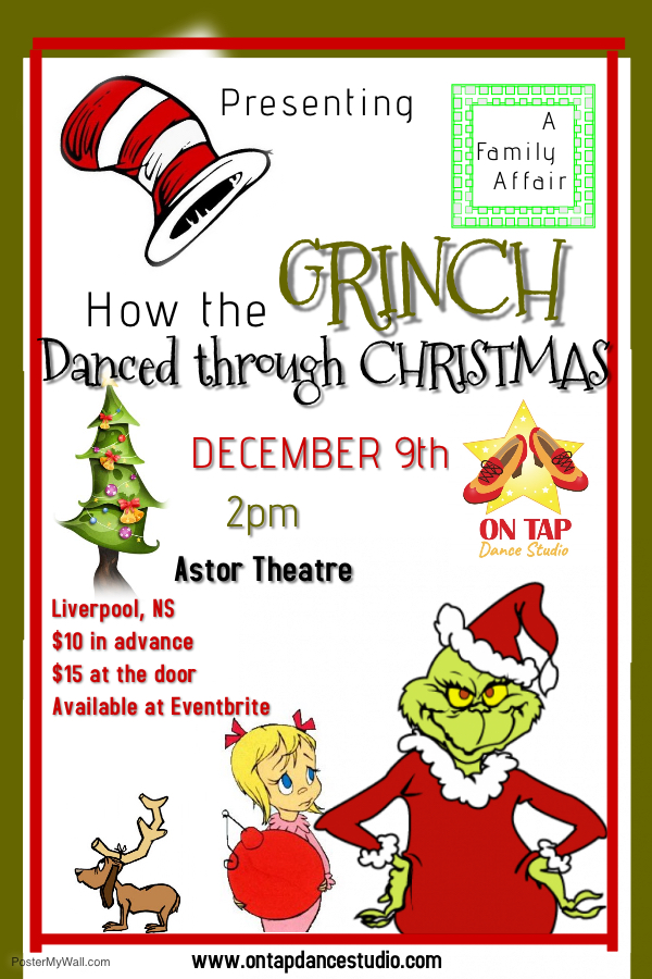 How the Grinch Danced through Christmas - presented by On Tap Dance Studio @ Astor Theatre