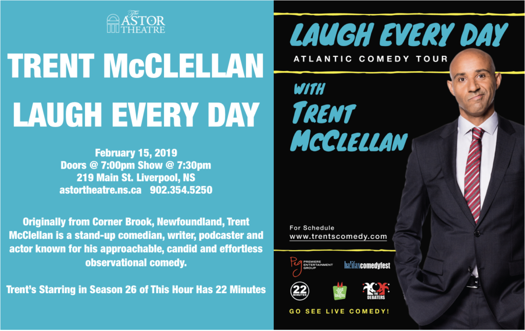 Trent McClellan - Laugh Every Day @ Astor Theatre