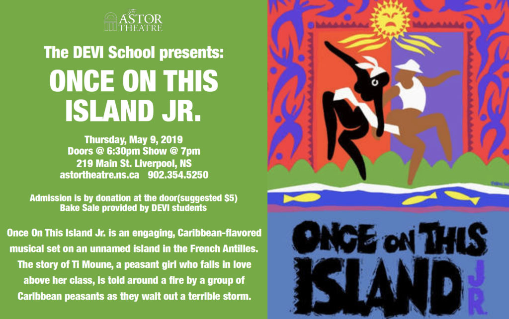 Once On This Island Jr. @ Astor Theatre