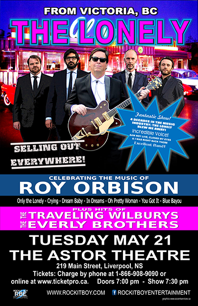 The Lonely - Celebrating the Music of Roy Orbison @ Astor Theatre