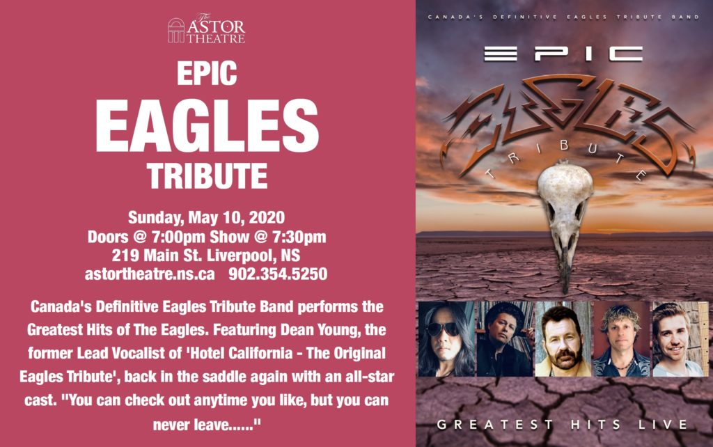 Epic EAGLES Tribute @ Astor Theatre