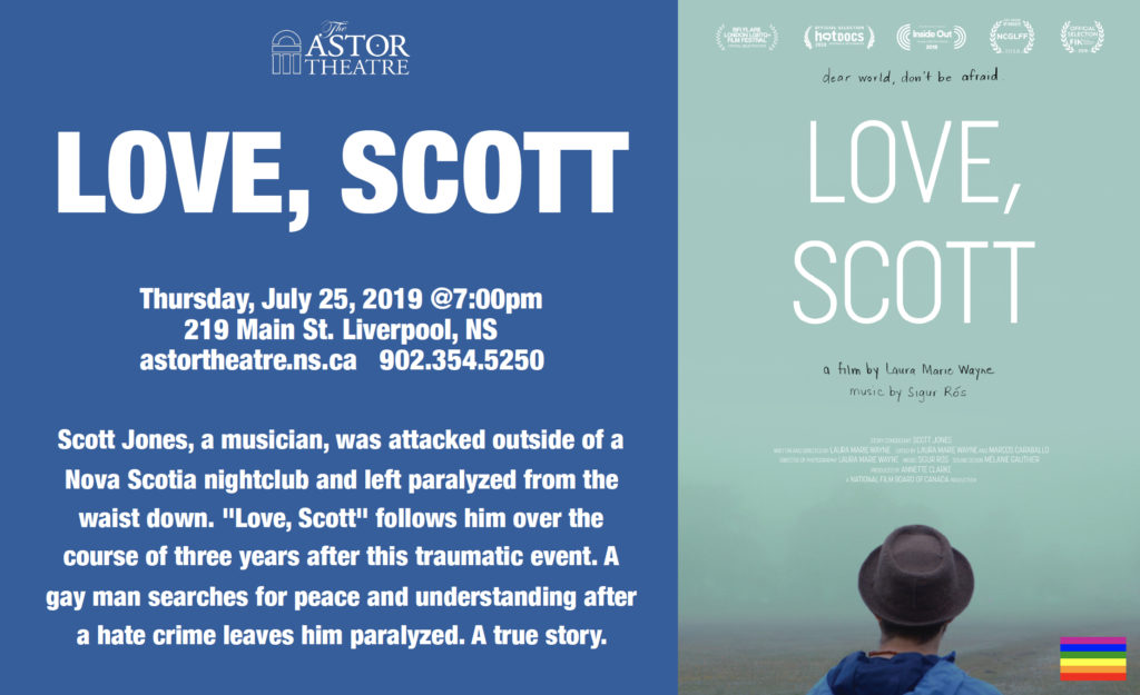 Love, Scott - Thurs @ 7pm @ Astor Theatre