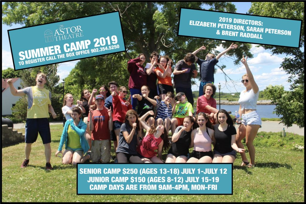 Summer Theatre Camp 2019 @ Astor Theatre