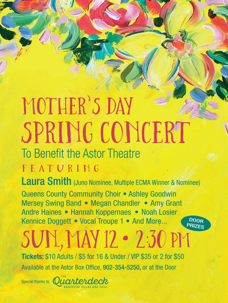 Mother's Day Spring Concert @ Astor Theatre