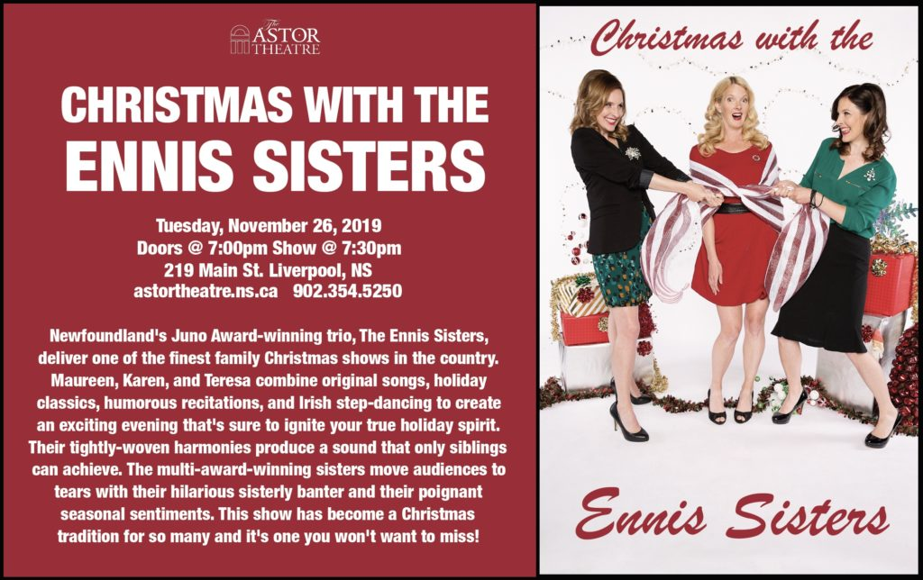 Christmas with the Ennis Sisters @ Astor Theatre