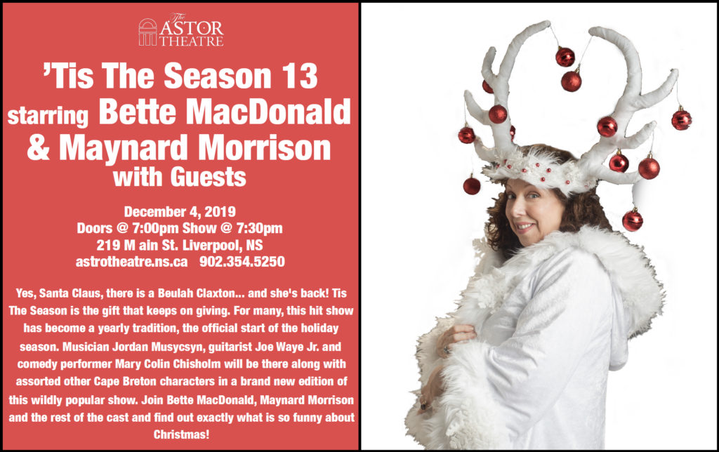 'Tis the Season 13 with Bette MacDonald @ Astor Theatre