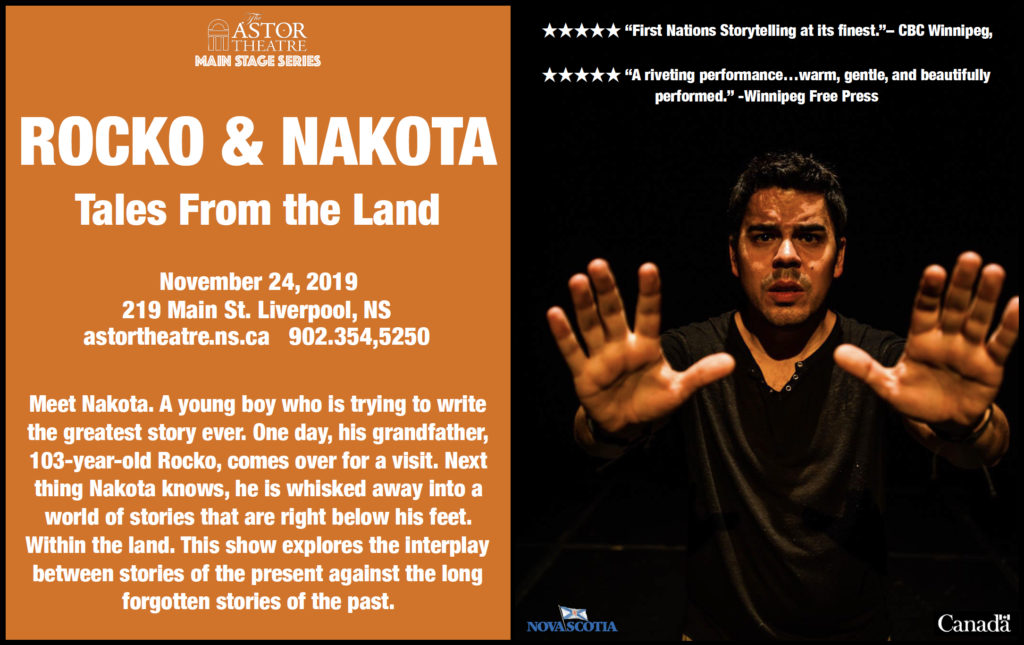 Rocko & Nakota - Tales From the Land  (Main Stage Series) @ Astor Theatre