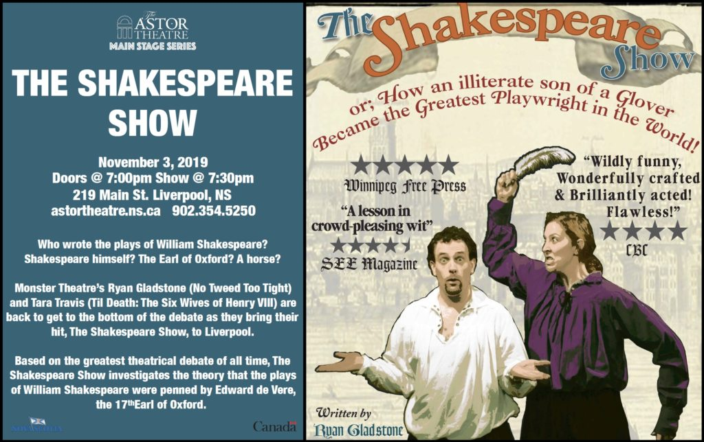 The Shakespeare Show (Main Stage Series) @ Astor Theatre