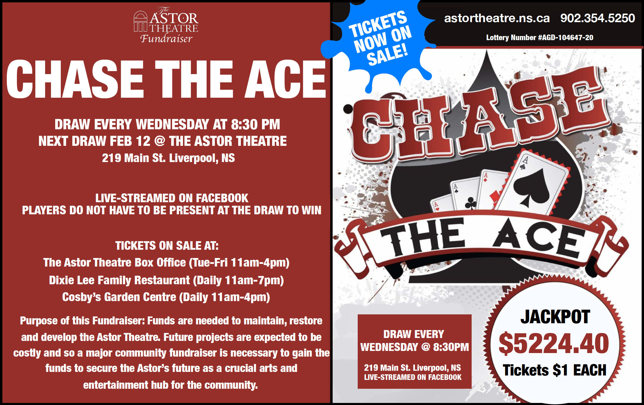 Chase The Ace (Round 4) @ Astor Theatre(lobby)