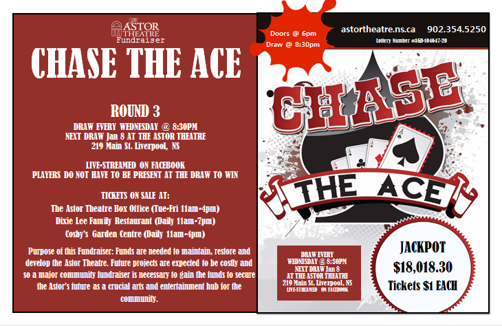 Chase The Ace (Round 3) @ Astor Theatre(lobby)
