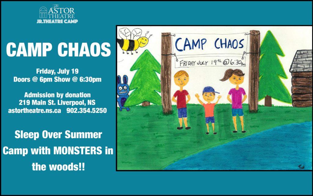 Jr.Theatre Camp presents: CAMP CHAOS @ Astor Theatre