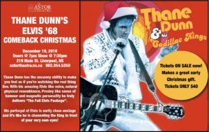 Thane Dunn's Elvis '68 Comeback Christmas @ Astor Theatre