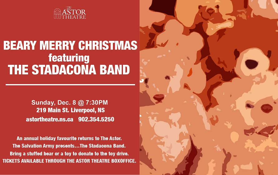 Beary Merry Christmas Feat. The Stadacona Band @ Astor Theatre