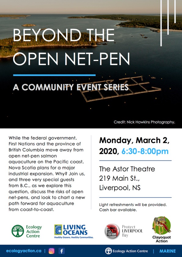 Beyond the Open Net-Pen  -    A Community Series @ Astor Theatre