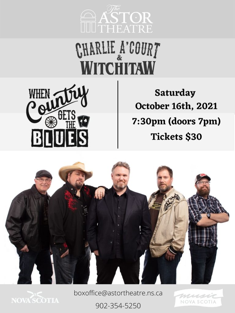 Charlie A'Court & Witchitaw - When Country Gets The Blues @ Astor Theatre