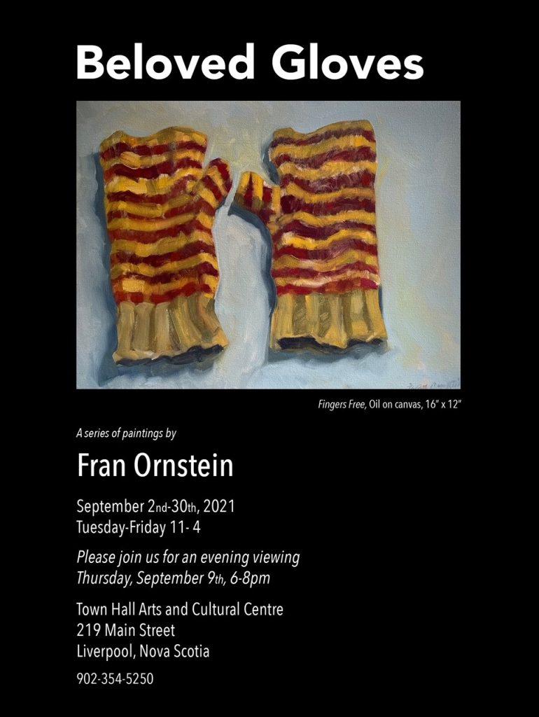 Art Exhibition: Fran Ornstein - Beloved Gloves @ Town Hall Arts & Cultural Centre